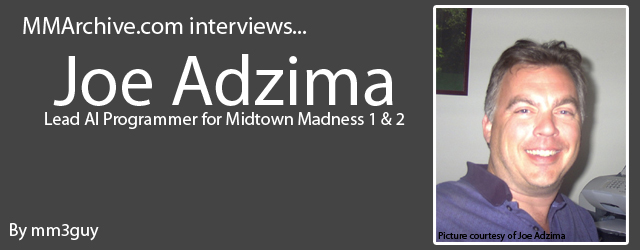Joe Adzima photograph and header